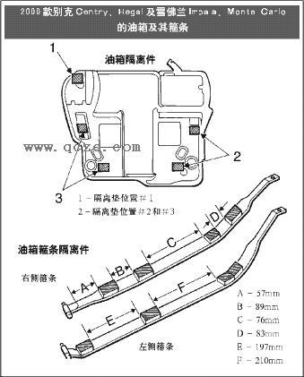 汽车油箱接线图