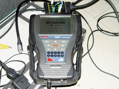 汽车故障诊断仪是维修中非常重要的工具(图-如何使用汽车故障诊断