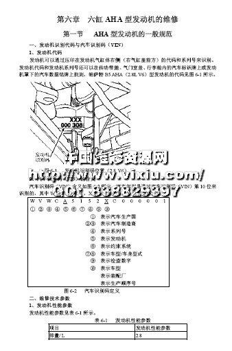 上海大众帕萨特b5汽车维修手册