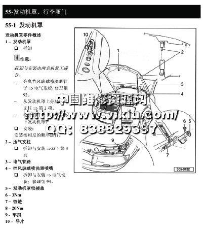 大众斯柯达速派汽车原厂维修手册