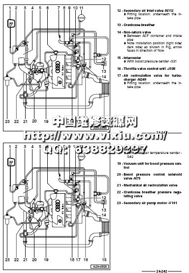 奥迪a4汽车原厂维修手册