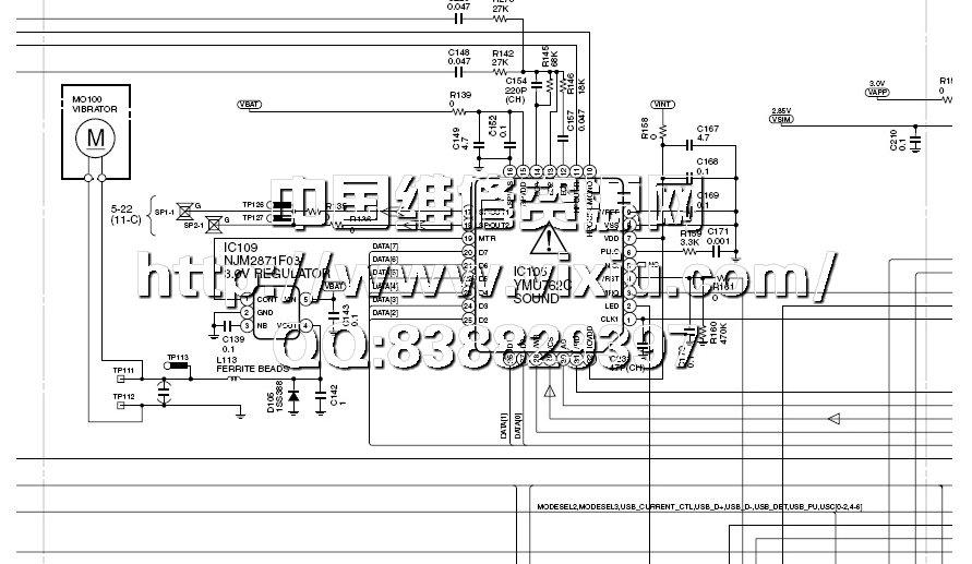 最新三菱松下夏普手机电路图大全(2008全集)