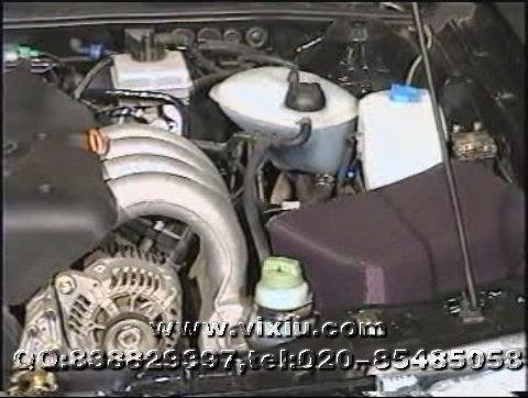 桑塔纳2000发动机电控系统检修(1vcd)