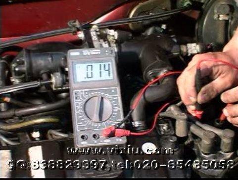富康轿车电喷系统检测与维修(1vcd)