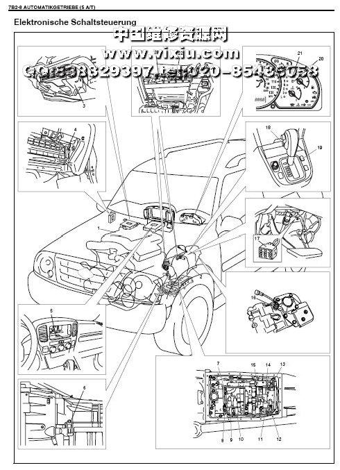 vitara汽车维修资料与电路图册