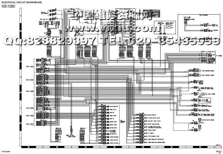 小松pc750-7,pc800-7挖掘机维修资料技术服务手册