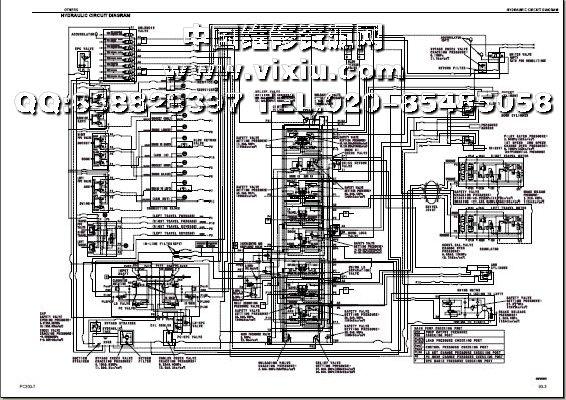 lc-7挖掘机维修电路图