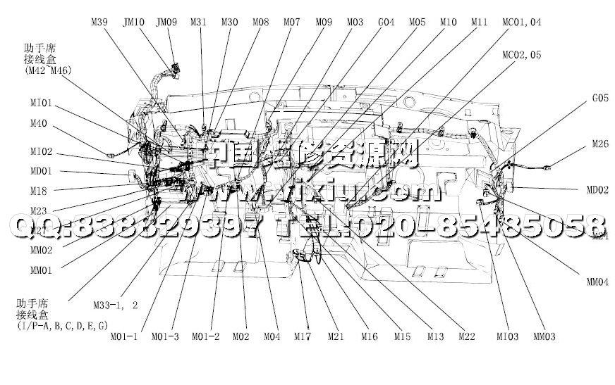 北京现代伊兰特原厂电路维修手册