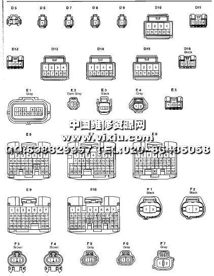 rx300 rx330维修资料电路图
