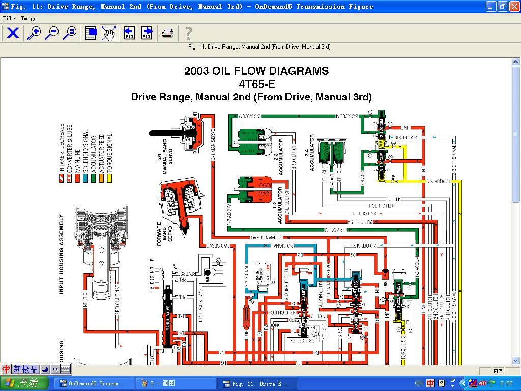 od5-tran米切尔自动变速箱维修资料数据库 ondemand5