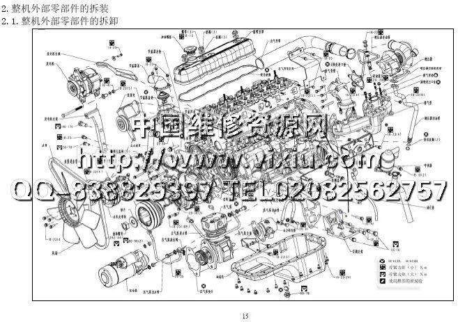 挖掘机维修资料-电子配件目录-维修手册电路图资料 总商城 柴油发动机