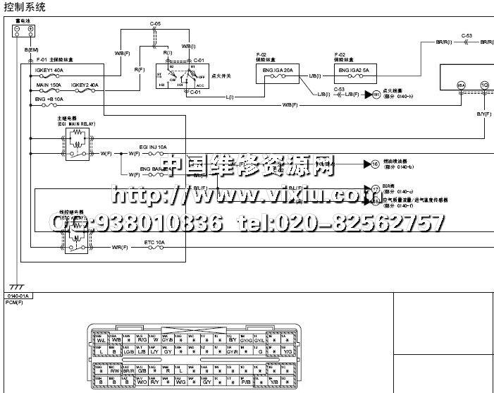 2010一汽马自达8全车电路图资料