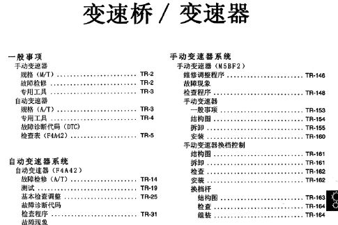 2009北京现代伊兰特原厂维修电路图册