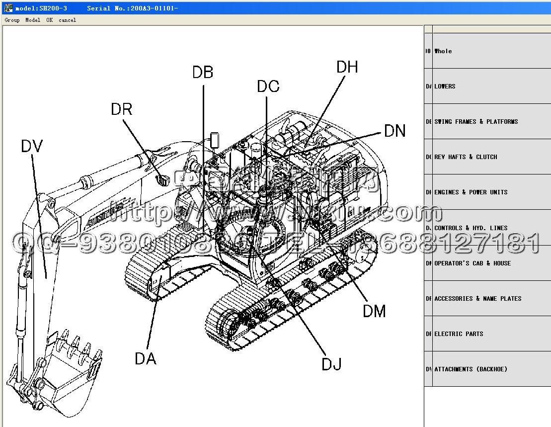 现代叉车维修手册资料电路图查询系统