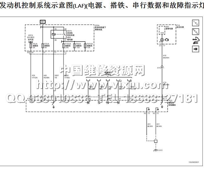 2013款上海通用别克gl8豪华商务车维修手册带电路图