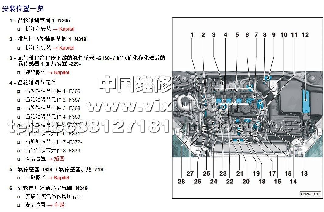 2015-2016款上海大众凌渡汽车维修手册带电路图资料