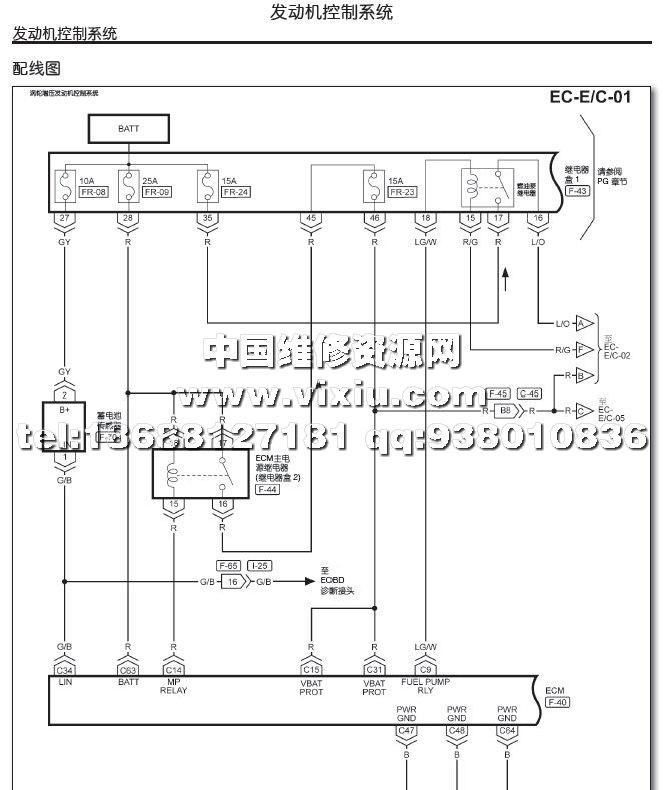 2015款东风裕隆纳智捷优6suv汽车维修手册带电路