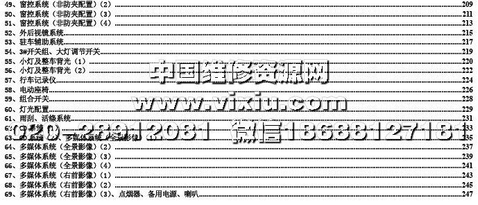 2015款比亚迪元sc全车电路图维修资料