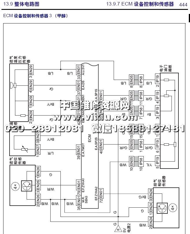 2015款吉利帝豪ec7全车电路图维修资料详细资料