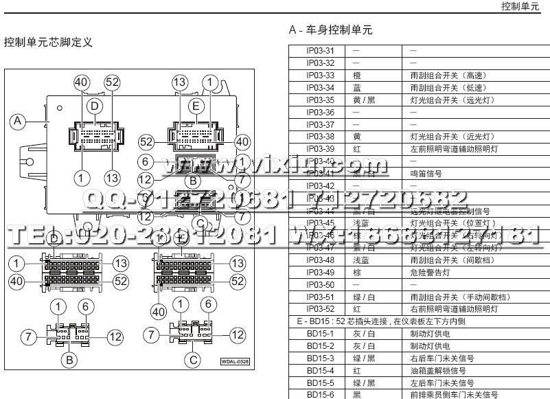2017款广汽传祺ga8汽车电路图维修资料