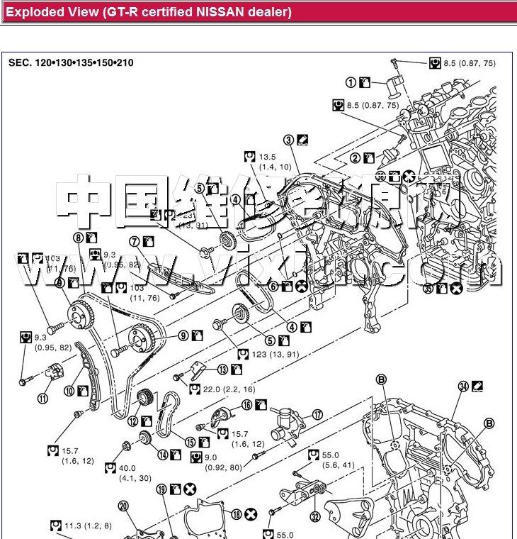 2013款日产gt-r r35汽车维修手册带电路图资料详细资料